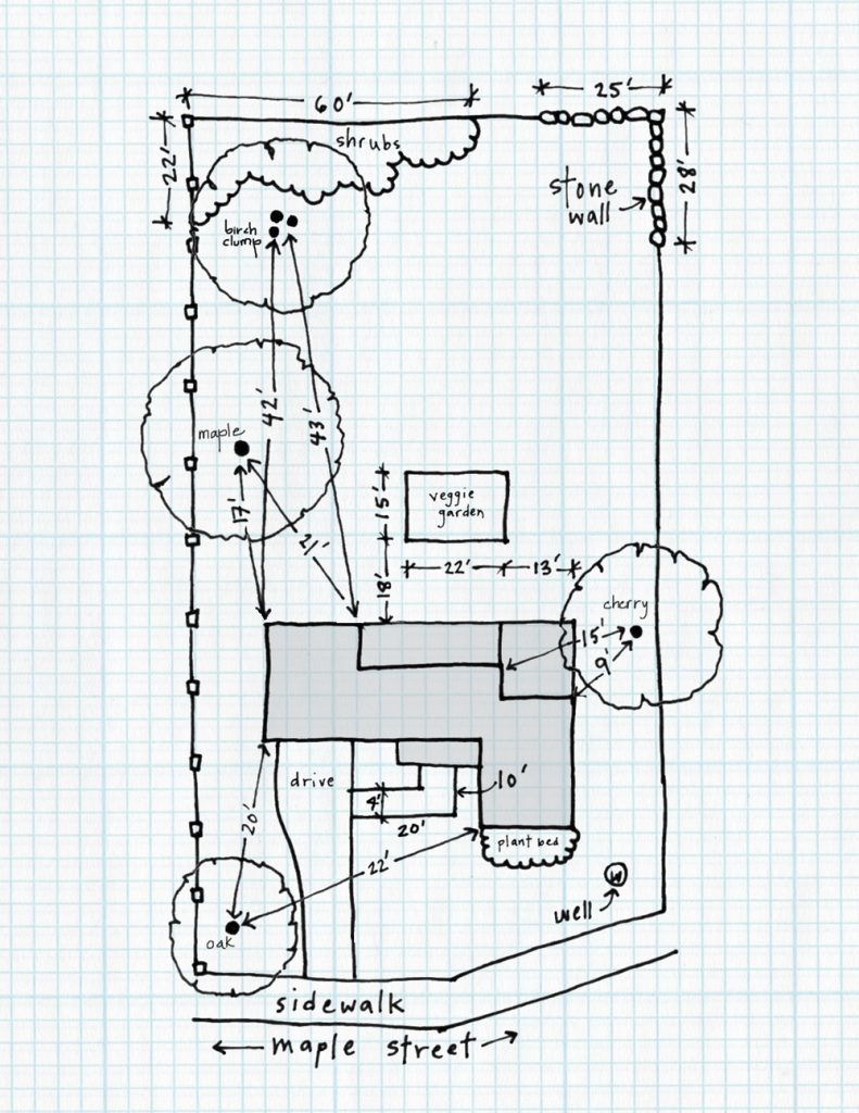 DIY Landscape Design: Drawing Your Property Base Plan