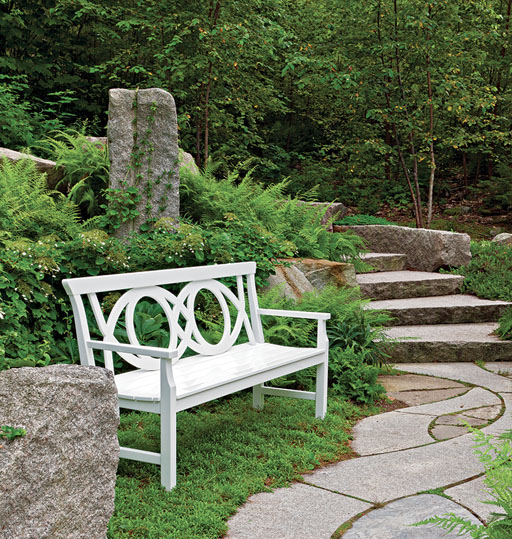 Landscape Design Tip: Back Up Your Seating!