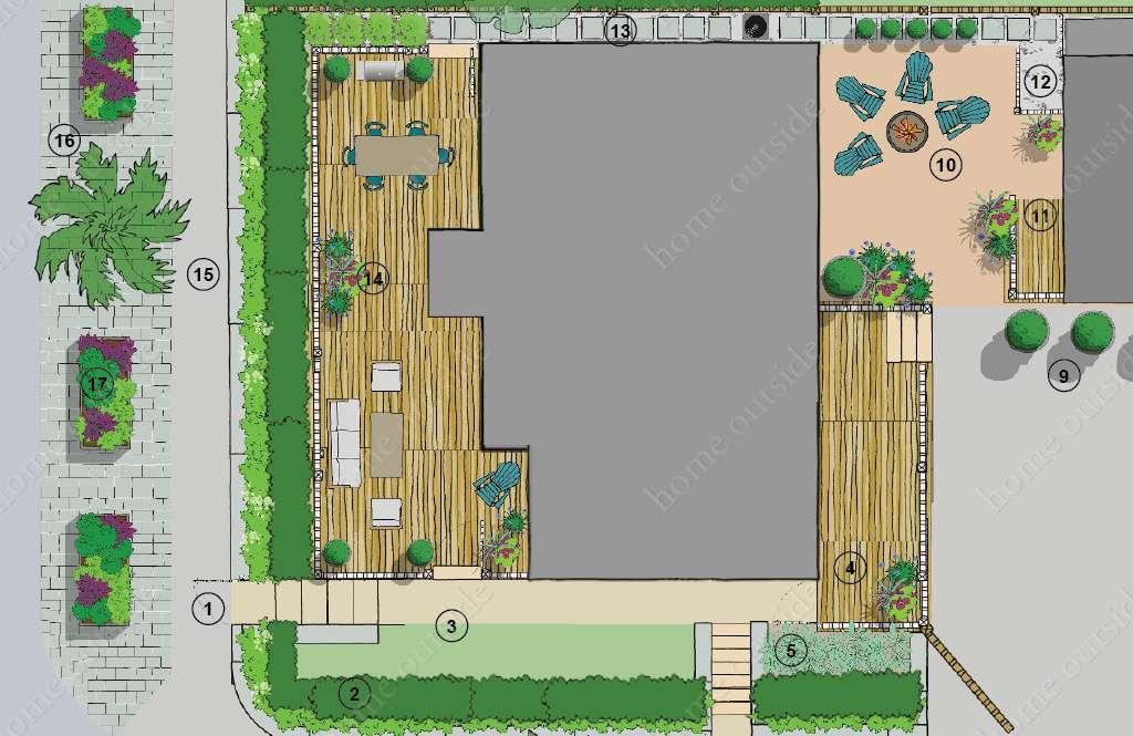 Home Outside   Southern California Landscape Design