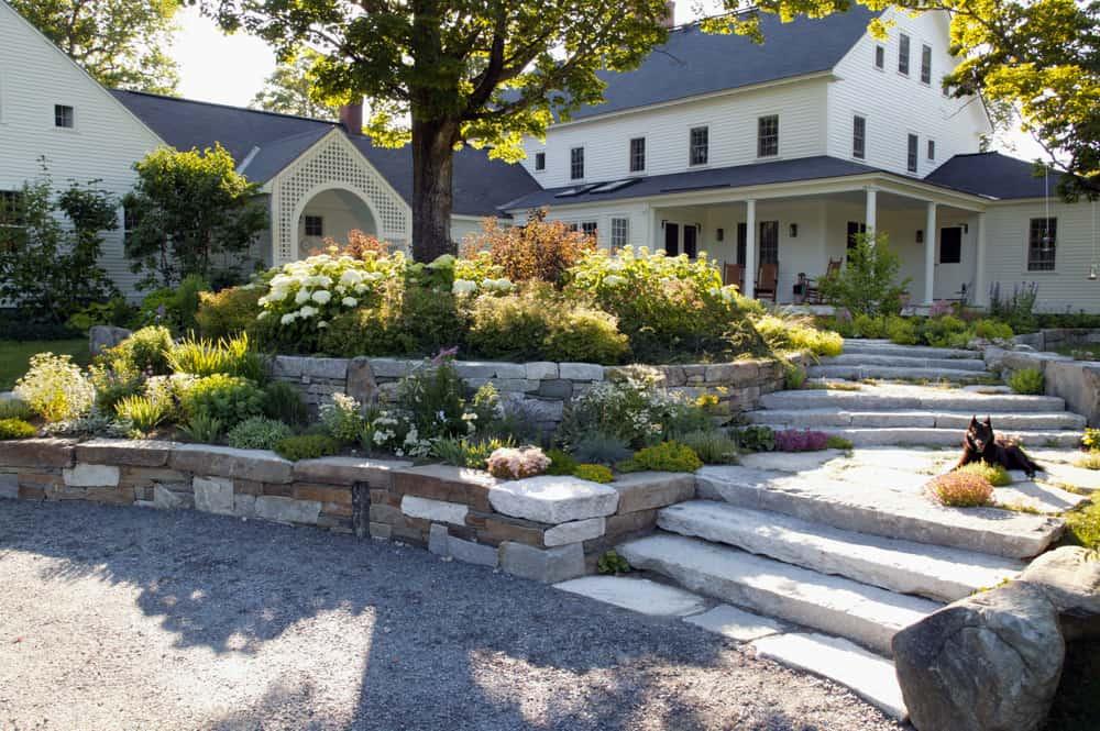 Home Outside's Front Yard Landscape Design Service